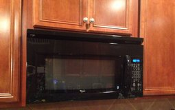 Whirlpool Microwave, black in Baytown, Texas