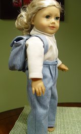 "Doll clothes 18"", Denim jeans & backpack in Camp Lejeune, North Carolina"