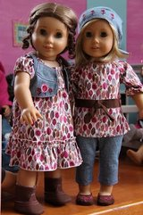 American girl bitty prairie dress outfit new in Westmont, Illinois