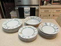 19-Piece Bavaria, Germany Porcelain China -- Egyptian Motif - Mint Condition in Kingwood, Texas