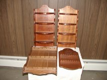 4 Souvenir Spoon Racks in Oswego, Illinois