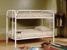 TWIN BUNK BEDS WITH MATTRESS in Riverside, California