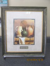 LORAN SPECK PRINT EARTHENWARE WITH GRAPES in Warner Robins, Georgia