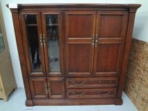 Solid Wood - Television Amoire Cabinet in Baytown, Texas