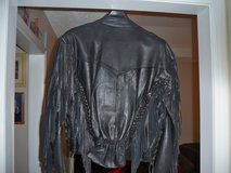 LEATHER MOTORCYCLE JACKET in Fort Campbell, Kentucky