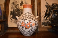 Eva Histia - Acoma Pottery Vase in Houston, Texas