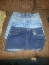 jean skirts womens medium and size 9 in Hinesville, Georgia