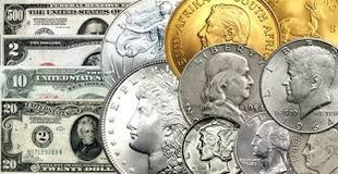 Buying U. S. Coins & Paper Money in Cherry Point, North Carolina