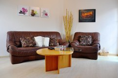 7 mins to RAB Lovely 2 bd/1bth apt short/long term TLA in Ramstein, Germany