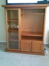 Reduced!!! Solid Wood Entertainment Center in Lawton, Oklahoma