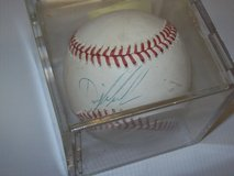 Dwight Gooden and Kevin McReynolds of NY Mets Autograph Baseball in Fort Carson, Colorado