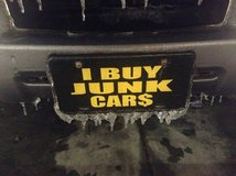 $100 and up for Junk Vehicles, no games! Free Pickup! in Camp Lejeune, North Carolina