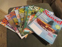 A Year's Worth Of Sunset Magazines - Discover The Western Part Of the U.S. in Kingwood, Texas