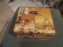 2 Paris Eiffel Tower-Themed Tins -- 1 Large & 1 Smaller in Houston, Texas