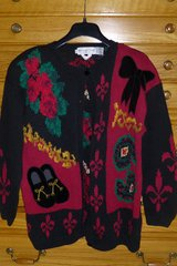 Eagle's Eye Holiday Cardigan in Naperville, Illinois
